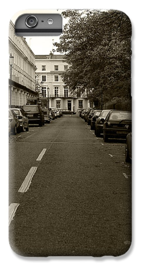Travel IPhone 6 Plus Case featuring the photograph A London Street II by Ayesha Lakes