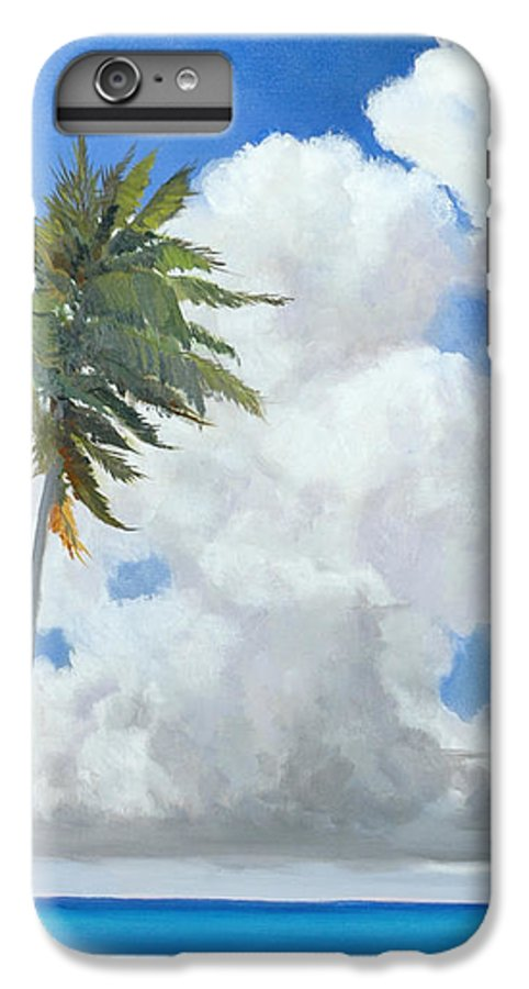 Landscape IPhone 6 Plus Case featuring the painting A Perfect Day by Glenn Secrest