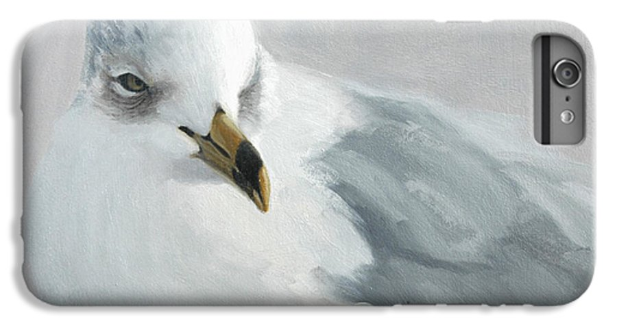 Painting IPhone 6 Plus Case featuring the painting A Quiet Morning by Greg Neal