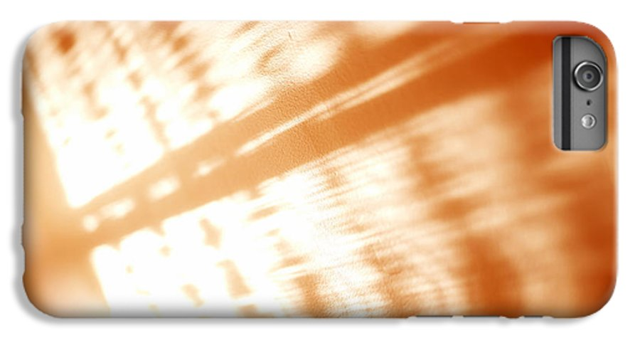 Abstract IPhone 6 Plus Case featuring the photograph Abstract Light Rays by Tony Cordoza