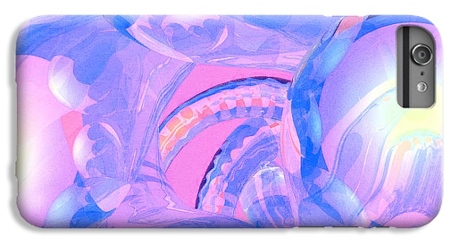 Abstract IPhone 6 Plus Case featuring the photograph Abstract Number 7 by Peter J Sucy
