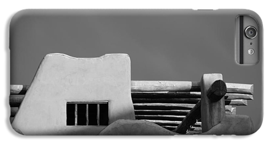 Architecture IPhone 6 Plus Case featuring the photograph Adobe Turrett by Rob Hans