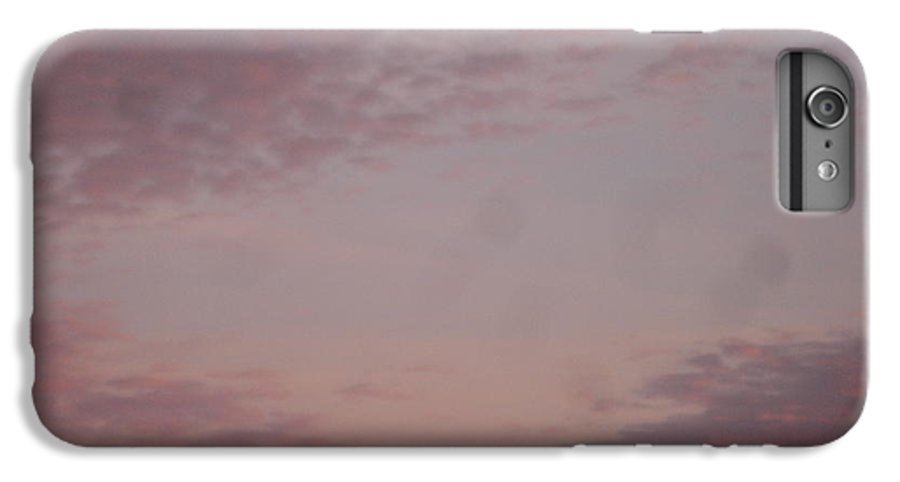 Skyscape IPhone 6 Plus Case featuring the painting Afternoon Sky by Roger Cummiskey