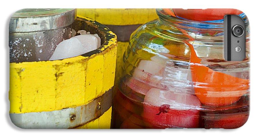 Beverage IPhone 6 Plus Case featuring the photograph Agua De Hamaica by Skip Hunt