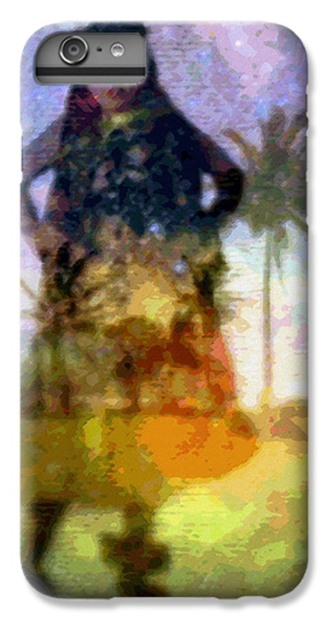 Tropical Interior Design IPhone 6 Plus Case featuring the photograph Aluna Ahiahi Hula by Kenneth Grzesik