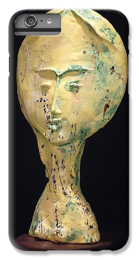 IPhone 6 Plus Case featuring the sculpture Ambrosia by Gian Genta