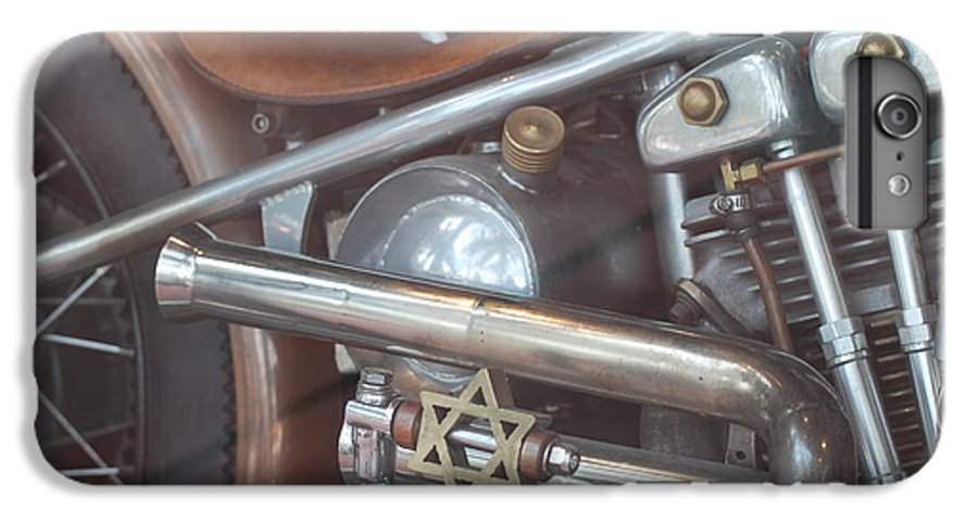 Motorcycle IPhone 6 Plus Case featuring the photograph Ami's Bike by Rob Hans
