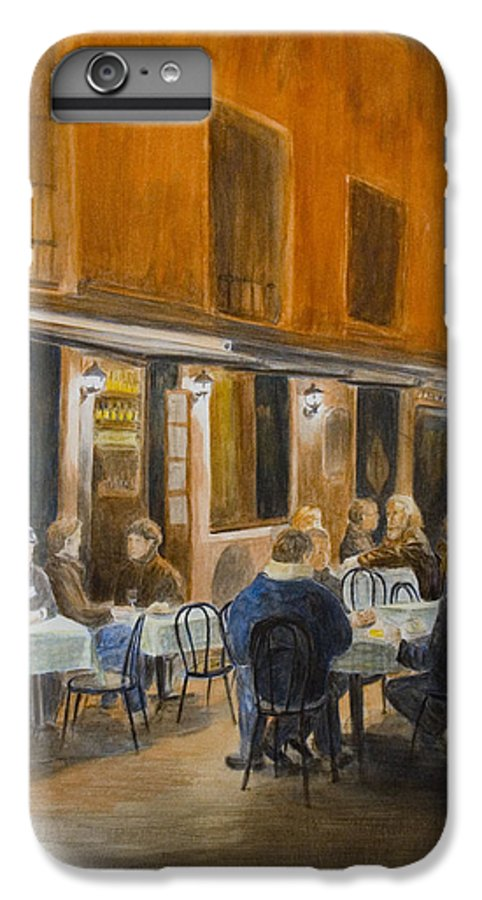 Venice IPhone 6 Plus Case featuring the painting An Autumn by Nik Helbig