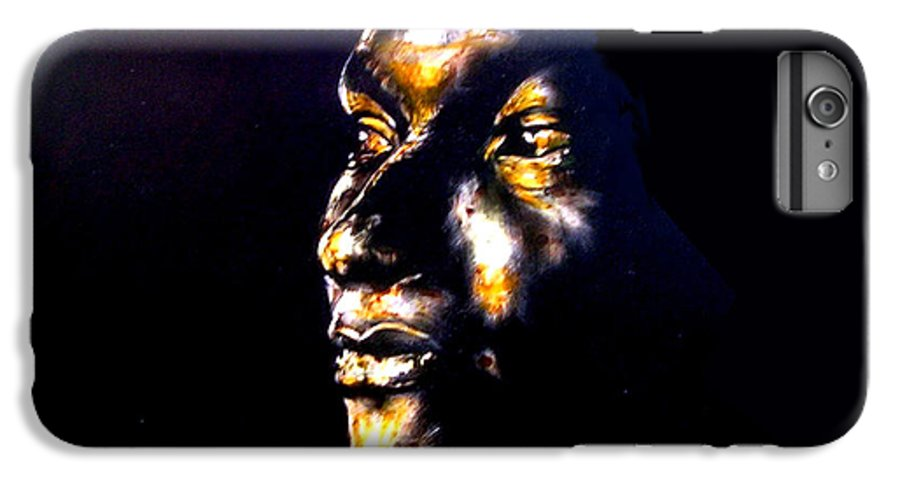 IPhone 6 Plus Case featuring the mixed media And Then Our Eyes Met by Chester Elmore