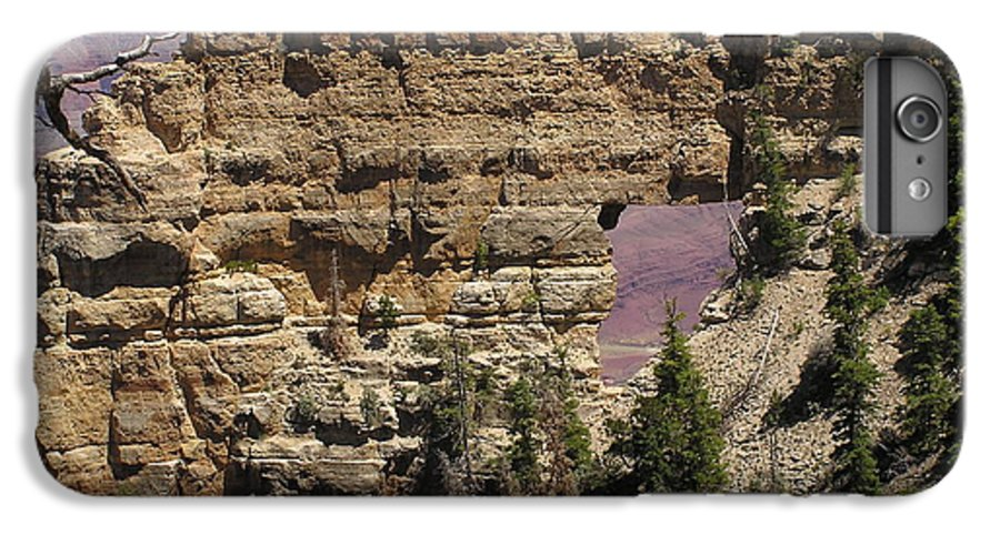 Grand Canyon IPhone 6 Plus Case featuring the photograph Angel by Louise Magno