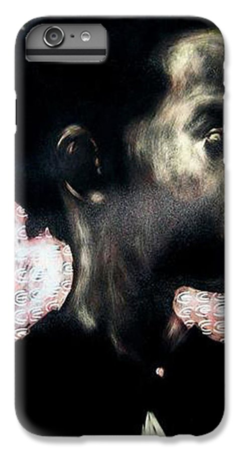 IPhone 6 Plus Case featuring the mixed media Angel Of Mercy by Chester Elmore