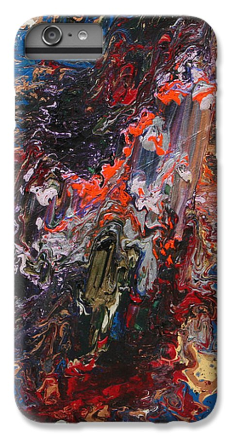 Fusionart IPhone 6 Plus Case featuring the painting Angel Rising by Ralph White