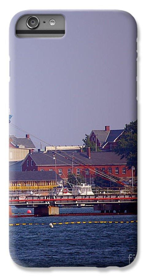 Aqua IPhone 6 Plus Case featuring the photograph Aqua In Dock by Faith Harron Boudreau