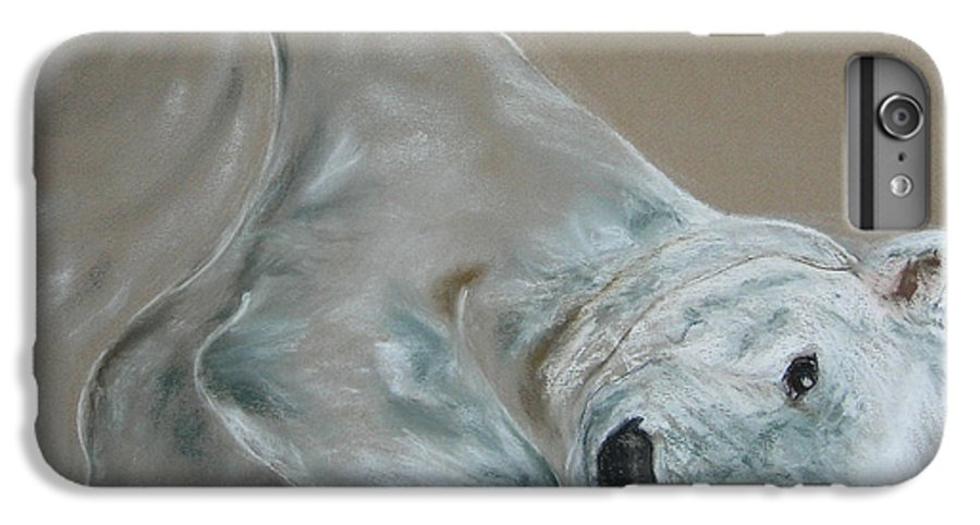 Polar Bear IPhone 6 Plus Case featuring the drawing Arctic Frolic by Cori Solomon