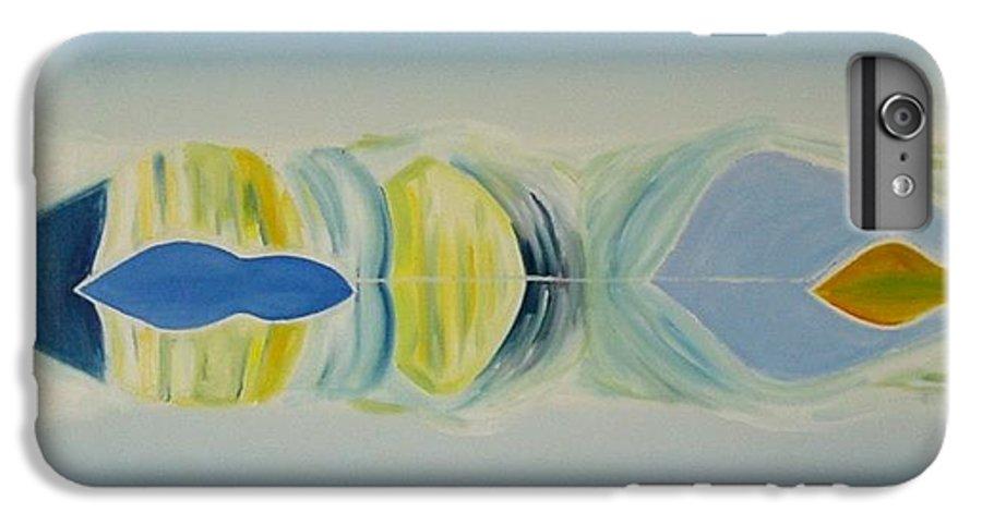 Landscape IPhone 6 Plus Case featuring the painting Arctic Landscape by Jarle Rosseland