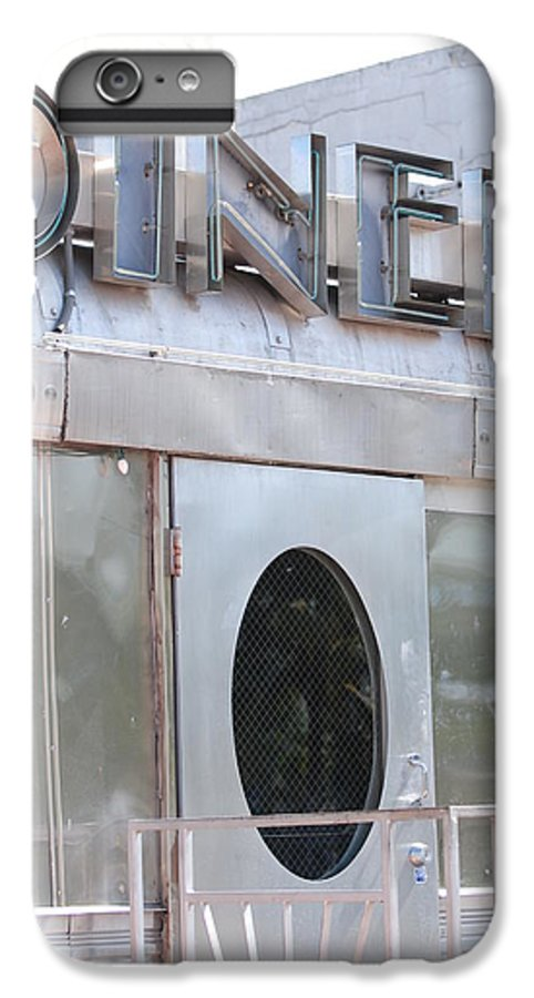 Architecture IPhone 6 Plus Case featuring the photograph Art Deco Diner by Rob Hans