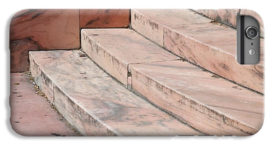 Architecture IPhone 6 Plus Case featuring the photograph Art Deco Steps by Rob Hans