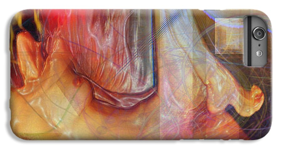 Passion Play IPhone 6 Plus Case featuring the digital art Passion Play by John Beck