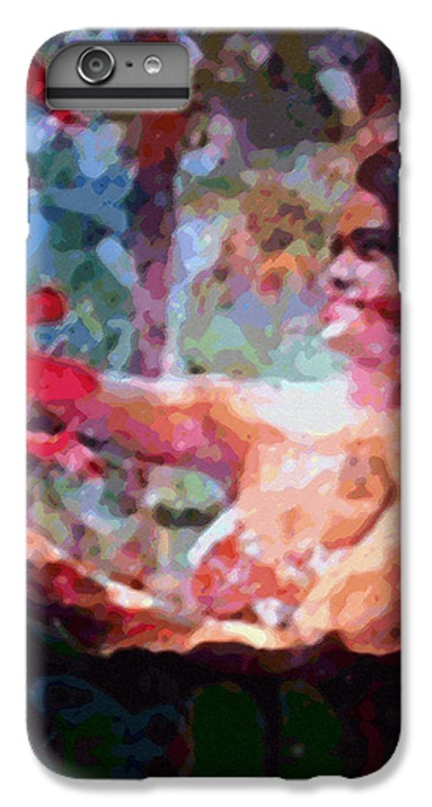 Rainbow Colors Digital IPhone 6 Plus Case featuring the photograph As If by Kenneth Grzesik