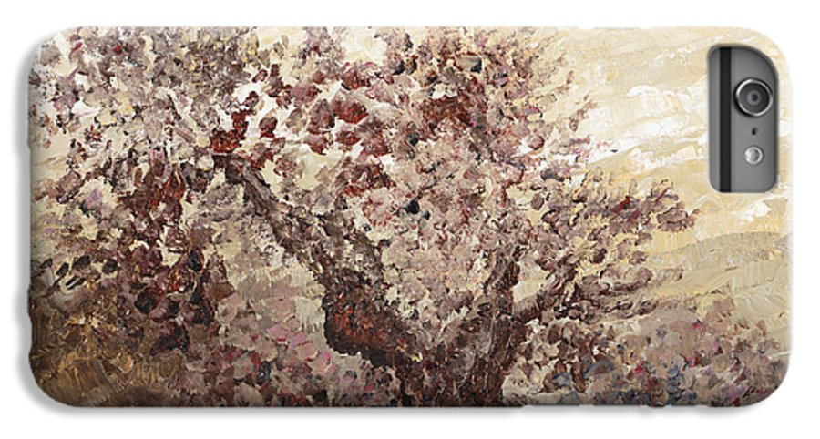 Landscape IPhone 6 Plus Case featuring the painting Asian Mist by Nadine Rippelmeyer