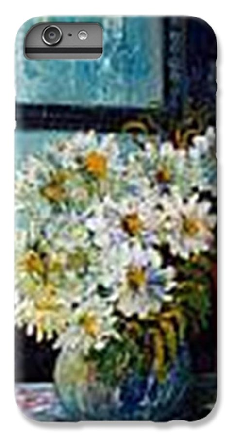 By The Window IPhone 6 Plus Case featuring the painting At Home by Carol P Kingsley