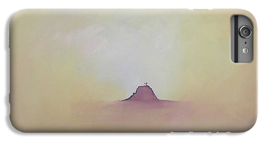 Abstract IPhone 6 Plus Case featuring the painting At Peace by Bojana Randall