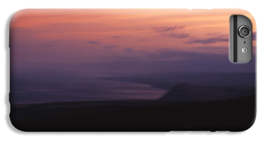 Sunset IPhone 6 Plus Case featuring the photograph At Sundown by Ayesha Lakes