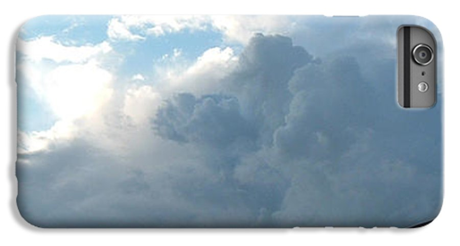 Sky IPhone 6 Plus Case featuring the photograph Atmospheric Barcode 19 7 2008 16 by Donald Burroughs