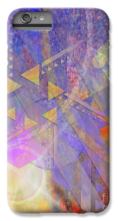 Aurora Aperture IPhone 6 Plus Case featuring the digital art Aurora Aperture by John Beck