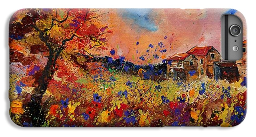 Poppies IPhone 6 Plus Case featuring the painting Autumn Colors by Pol Ledent