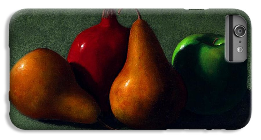 Still Life IPhone 6 Plus Case featuring the painting Autumn Fruit by Frank Wilson
