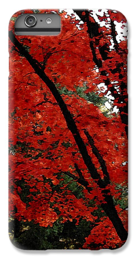 Autumn IPhone 6 Plus Case featuring the photograph Autumn In New England by Melissa A Benson