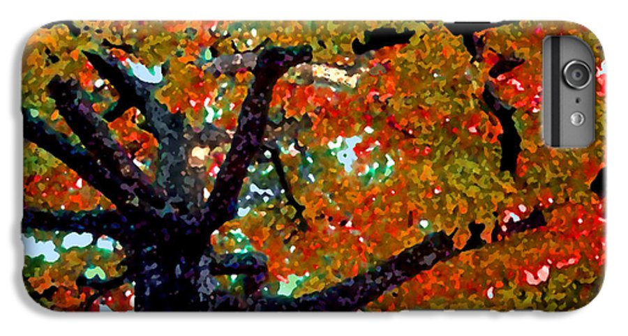 Fall IPhone 6 Plus Case featuring the photograph Autumn Tree by Steve Karol