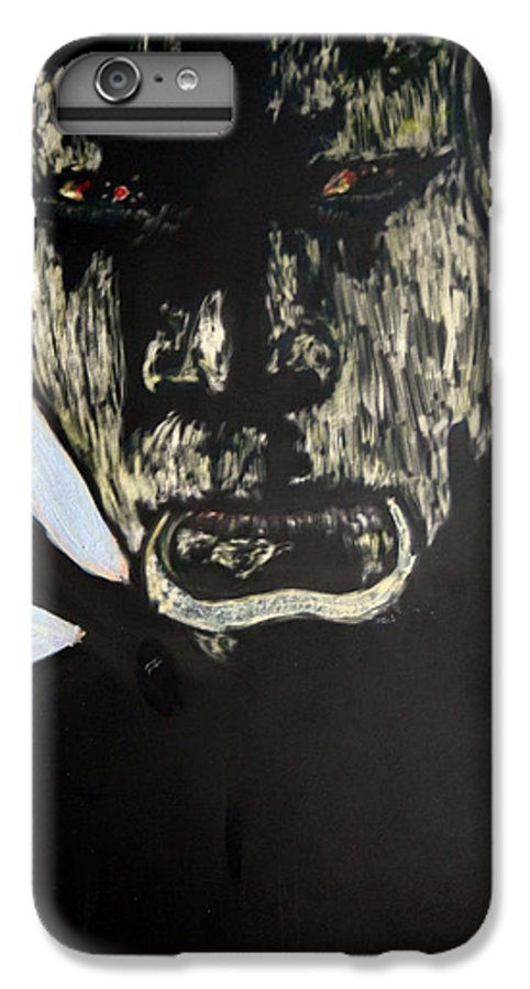 IPhone 6 Plus Case featuring the mixed media Avenging Angel by Chester Elmore