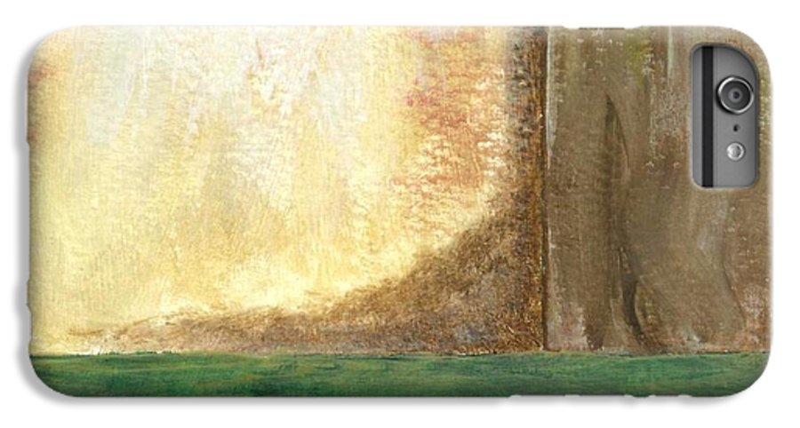 Abstract IPhone 6 Plus Case featuring the painting Awakening by Itaya Lightbourne