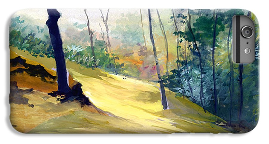 Landscape IPhone 6 Plus Case featuring the painting Balance by Anil Nene