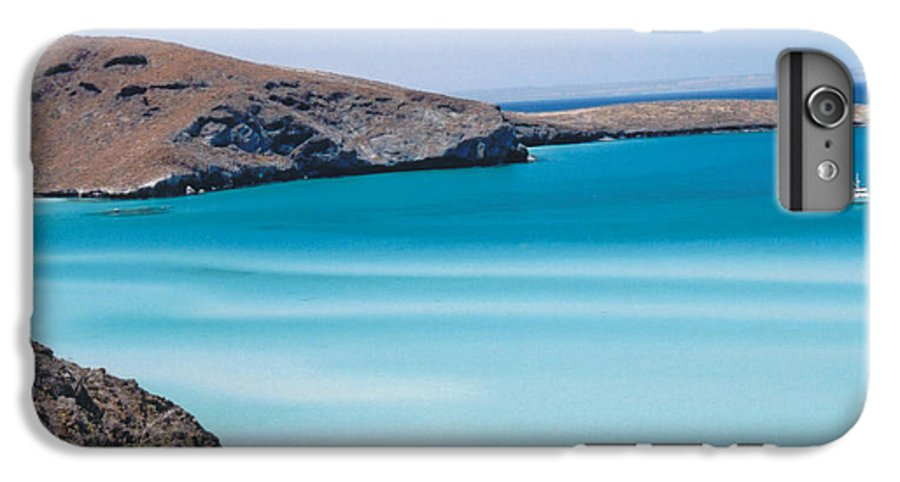 Blue IPhone 6 Plus Case featuring the photograph Balandra Bay by Kathy Schumann