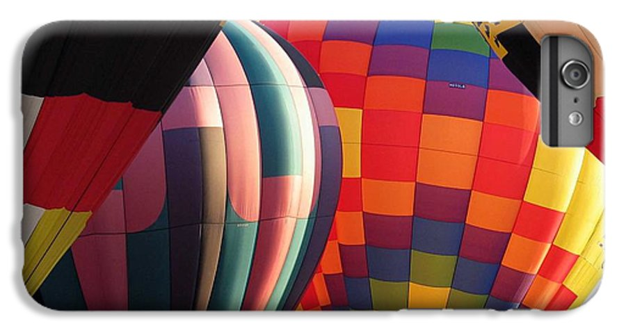 Hot Air Balloons IPhone 6 Plus Case featuring the photograph Balloons by Margaret Fortunato