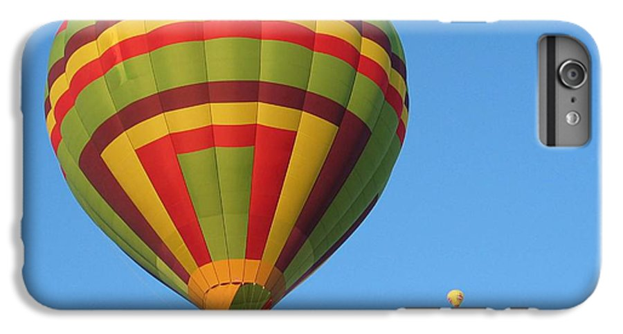 Hot Air Balloons IPhone 6 Plus Case featuring the photograph Balloons New Mexico by Margaret Fortunato