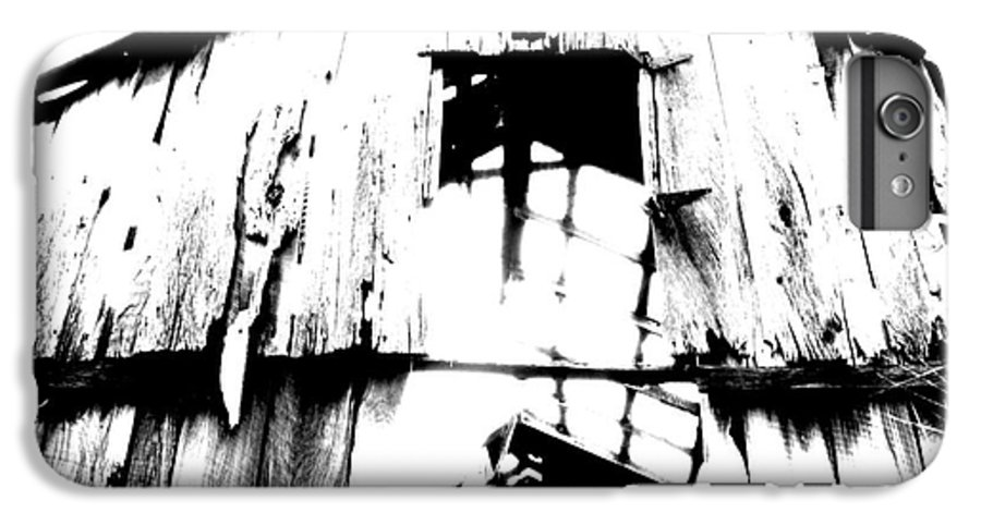 Barn IPhone 6 Plus Case featuring the photograph Barn by Amanda Barcon