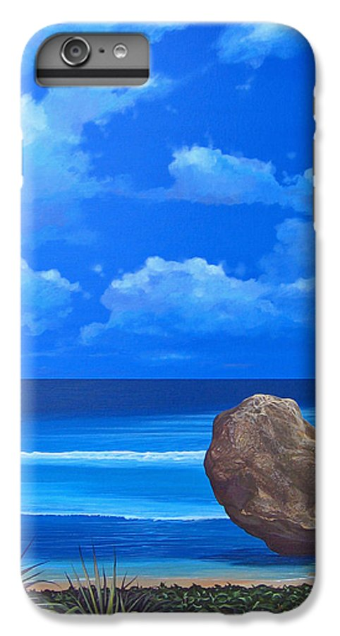 Barbados IPhone 6 Plus Case featuring the painting Bathsheba by Hunter Jay