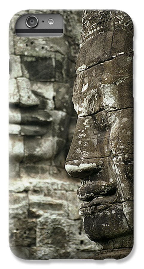 Bayon IPhone 6 Plus Case featuring the photograph Bayonii by Patrick Klauss