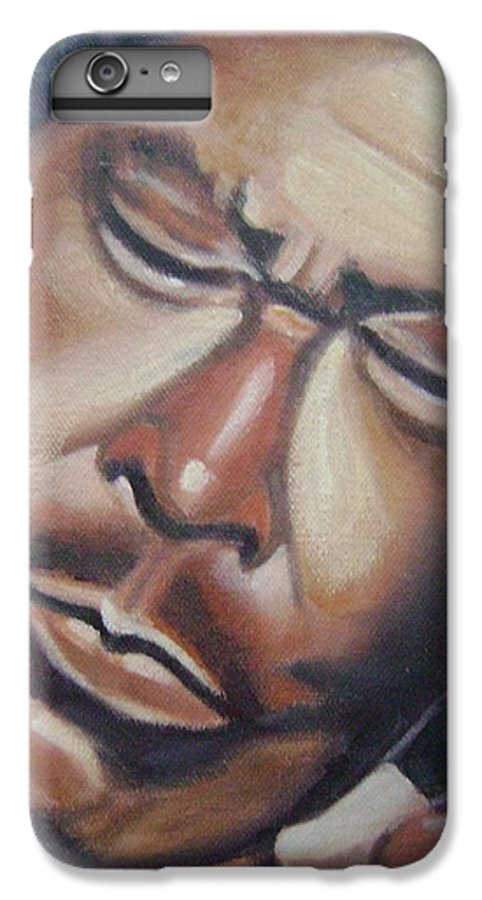 B.b. King IPhone 6 Plus Case featuring the painting B.b. King by Toni Berry