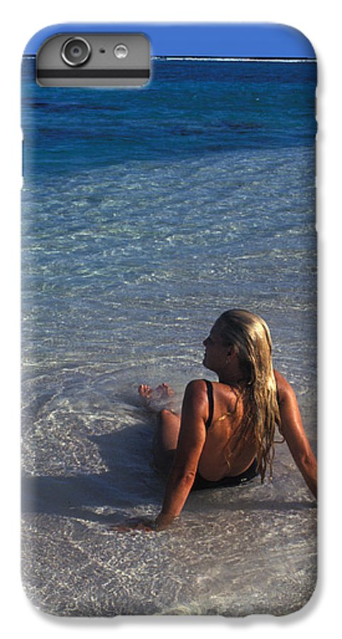 Beautiful IPhone 6 Plus Case featuring the photograph Beach At Little Cayman by Carl Purcell