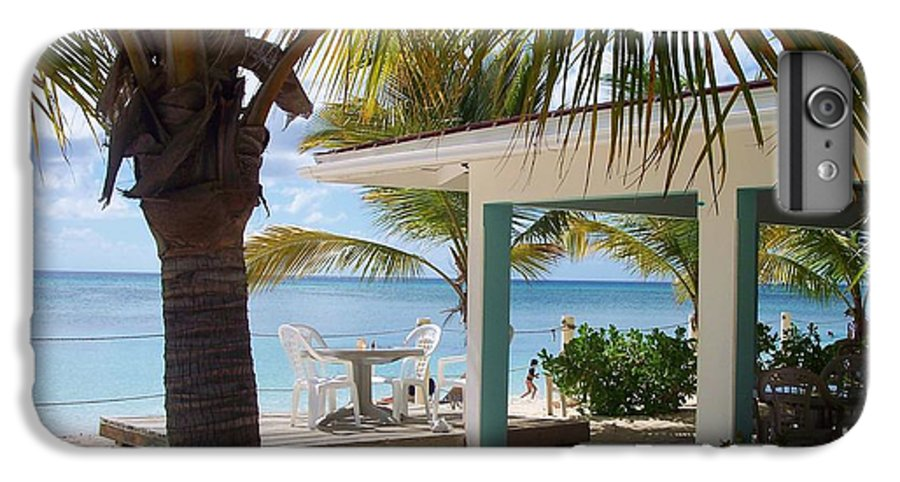 Beach IPhone 6 Plus Case featuring the photograph Beach In Grand Turk by Debbi Granruth