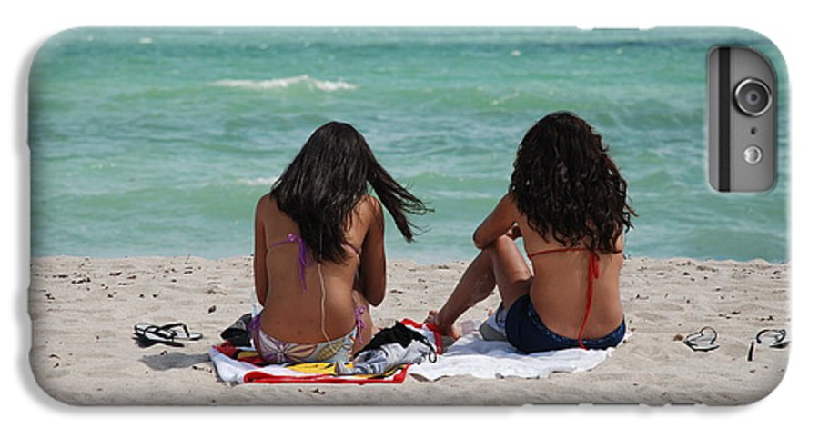 Women IPhone 6 Plus Case featuring the photograph Beauties On The Beach by Rob Hans