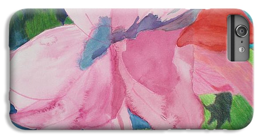 Flower IPhone 6 Plus Case featuring the painting Beautiful Azalea by Hal Newhouser