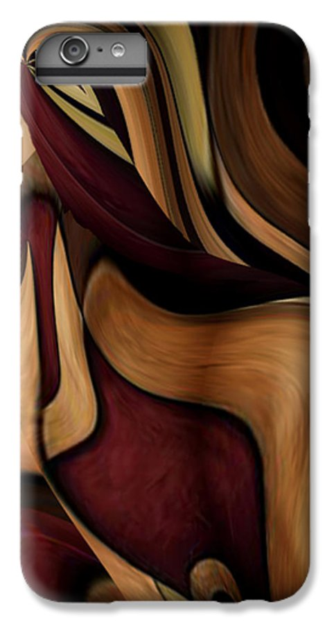 Beauty Queen IPhone 6 Plus Case featuring the painting Beauty Queen by Jill English