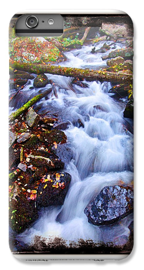 Landscape IPhone 6 Plus Case featuring the photograph Below Anna Ruby Falls by Peter Muzyka
