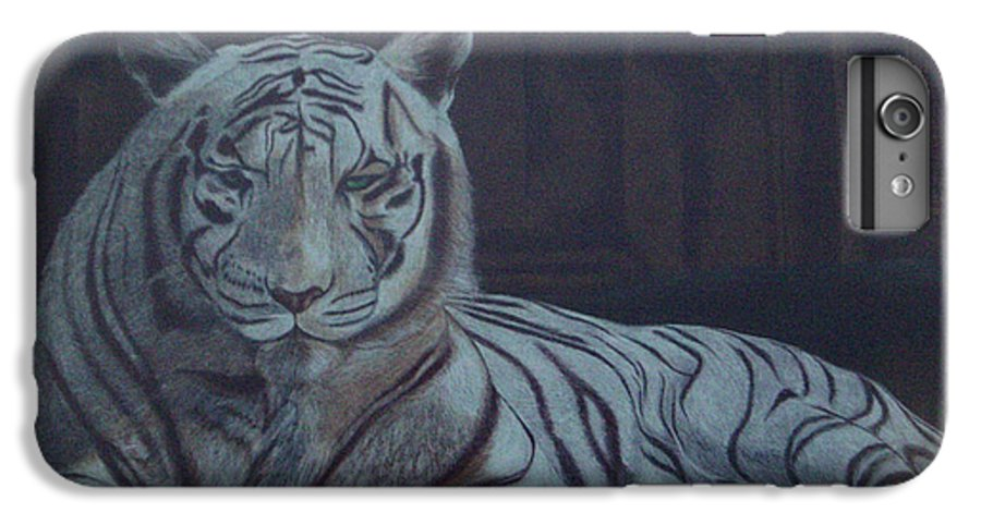 Wild Live IPhone 6 Plus Case featuring the painting Bengala Tiger by Fanny Diaz